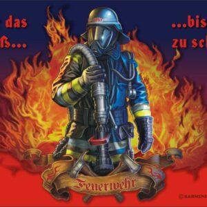 Feuerwehr Brotzeitbrettchen