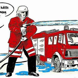 """Feuerwehr Zaubertasse """"Feuerwehrfahrzeug"""""""