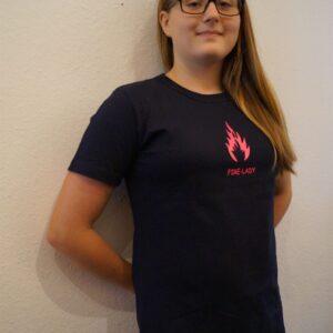 Damen Premium T-Shirt Modell Firelady-0