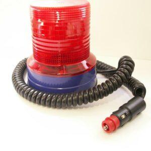 Magnet Doppelblitzleuchte Movia D rot