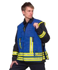 Funktionskennzeichnungsweste Feuerwehr-Rettungsdienst vorne