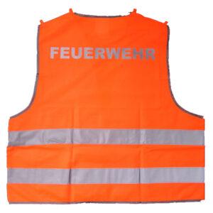 Warnweste EN471 orange mit Ihrem Aufdruck