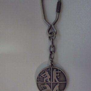 Schlüsselanhänger Feuerwehrsignet Metall
