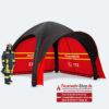 Schnelleinsatzzelt Gybe Humanity Tent SET Feuerwehr