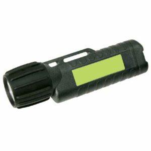 Helm- und Arbeitslampe UK 3AA eLED® CPO TS, Heckschalter (schwarz, nachl.)