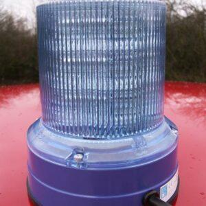 Magnet Doppelblitzleuchte Movia D-LED blau