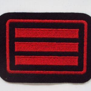Dienstgradabzeichen HFM Hauptfeuerwehrmann (NRW)
