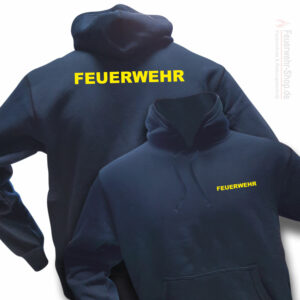 Feuerwehr Premium Kapuzen-Sweatshirt Basis