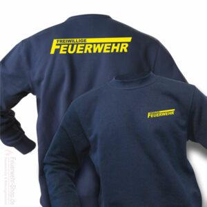 Feuerwehr Premium Pullover Freiwillige Feuerwehr Logo
