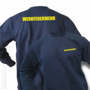 Feuerwehr Premium Pullover Werkfeuerwehr II