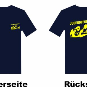 Jugendfeuerwehr T-Shirt mit Motiv Firefighter III
