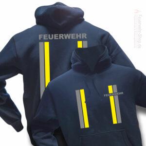 Feuerwehr Premium Kapuzen-Sweatshirt im Einsatzlook