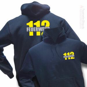 Feuerwehr Premium Kapuzen-Sweatshirt Firefighter II