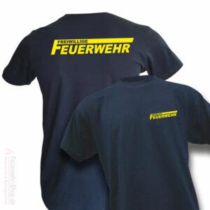 Feuerwehr Premium T-Shirt Freiwillige Feuerwehr Logo