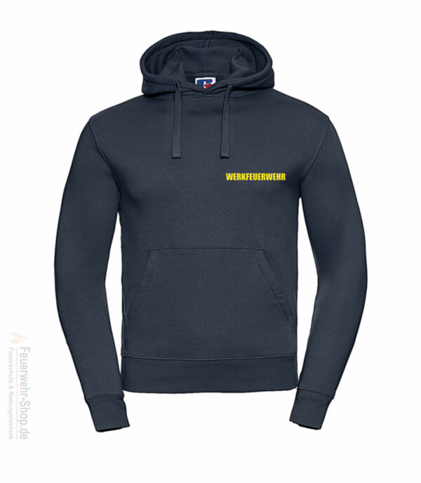 Feuerwehr Premium Kapuzen-Sweatshirt Werkfeuerwehr II