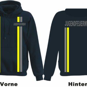 Jugendfeuerwehr Kapuzen-Sweatshirt im Einsatzlook