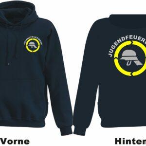 Jugendfeuerwehr Kapuzen-Sweatshirt Modell Helm