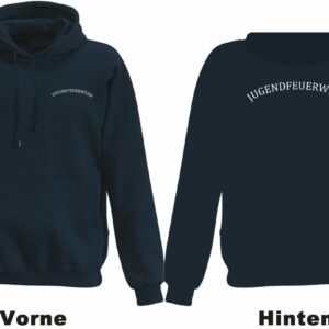 Jugendfeuerwehr Kapuzen-Sweatshirt mit Rundlogo