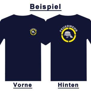 Kinderfeuerwehr Premium T-Shirt Helm-0