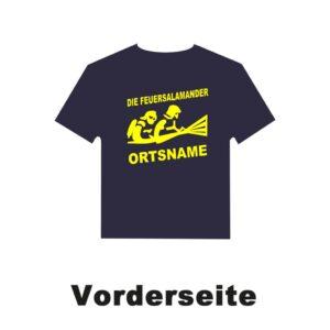 Kinderfeuerwehr T-Shirt Firefighter III mit Ortsnamen