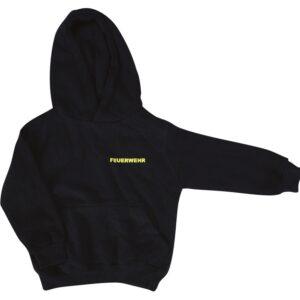 Kinderfeuerwehr Premium Kapuzen-Sweatshirt Basis -0