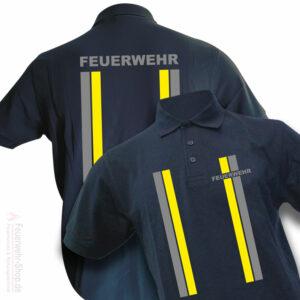 Feuerwehr Premium Poloshirt im Einsatzlook