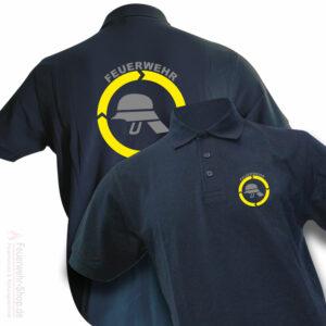 Feuerwehr Premium Poloshirt Helm