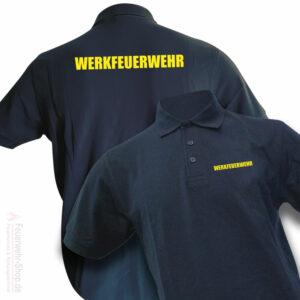 Feuerwehr Premium Poloshirt Werkfeuerwehr II