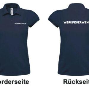 Feuerwehr Damen-Poloshirt Werkfeuerwehr I