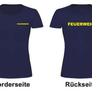 Feuerwehr Damen T-Shirt Modell Basis
