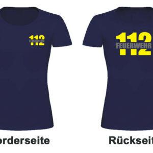 Feuerwehr Damen T-Shirt mit Motiv Firefighter II