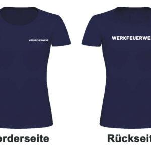 Feuerwehr Damen T-Shirt Werkfeuerwehr I