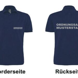 Ordnungsamt Poloshirt Modell Basis mit Musterstadt
