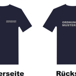 Ordnungsamt T-Shirt Modell Basis mit Musterstadt