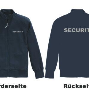 Sicherheitsdienst Sweatjacke Modell Basis