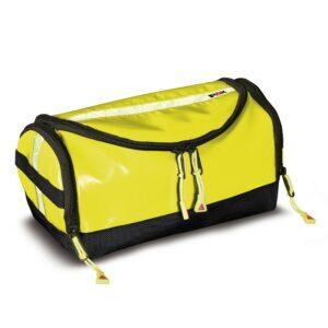 Pax Waschbär Kulturtasche gelb