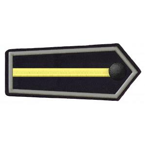 DRK NRW Schulterklappe Helfer Fachdienst Fernmeldedienst-0