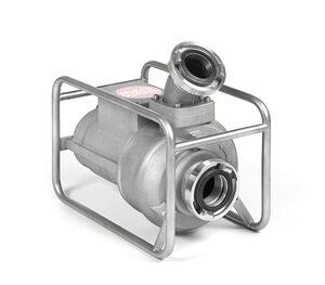 Abwassertauchpumpe ATP 15 R400 V im Rohrahmen