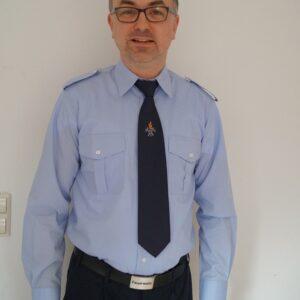 Feuerwehr Diensthemd hellblau 1/1 Arm, langarm