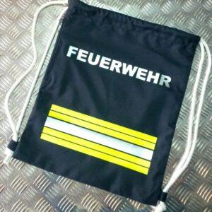 Turnbeutel im Feuerwehrdesign - Trend-Bag 1