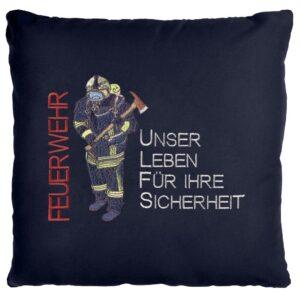Kissen Firefighter (navyblau)-0