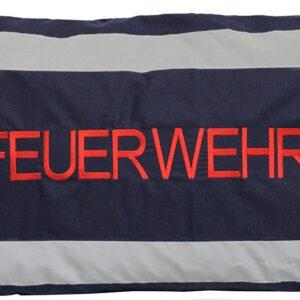 Kissen Feuerwehr (navyblau mit reflekt Streifen)-0