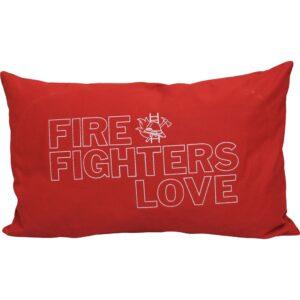 Kissen Firefighters Love (rot)-0