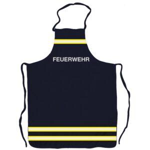 Grillschürze Feuerwehr im Einsatzlook (navyblau)-0