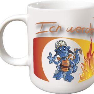 Kaffeetasse Ich will Feuerwehmann werden