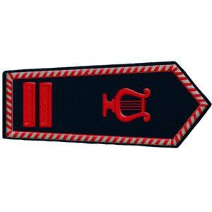 Schulterklappen Feuerwehrobermusikmeister (NRW)