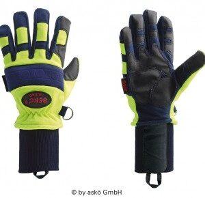 Askö GUARD Strickbund Handschuh-0