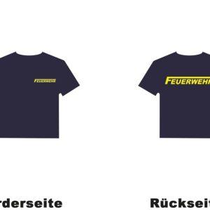 Kinderfeuerwehr Premium T-Shirt Logo-0