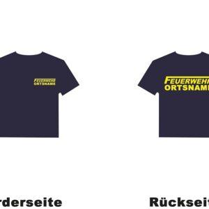 Kinderfeuerwehr Premium T-Shirt Logo mit Ortsnamen-0