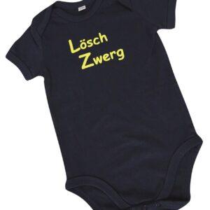 Baby-Body kurzarm oder langarm LöschZwerg-0